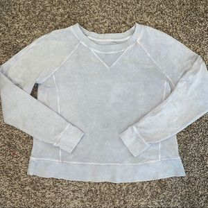 Lululemon Distressed All Yours Crewneck sweater